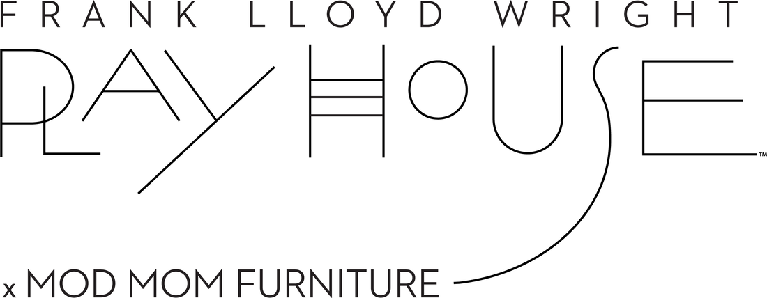 Frank Lloyd Wright Playhouse by Mod Mom Furniture